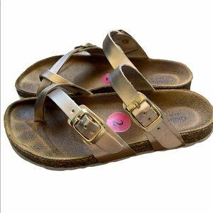Girls Giulia Palai  Rose Gold Sandal 2